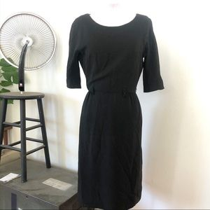 Vintage Lord & Taylor fitted sheath/wiggle dress